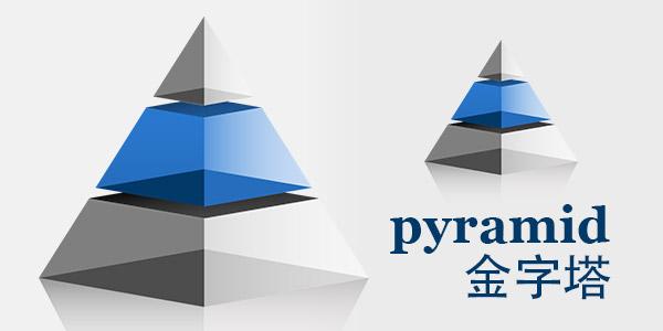 金字塔PPT模板下载